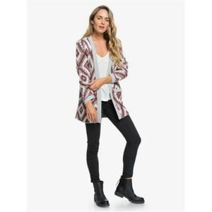 Roxy All Over Again 2 Open Knit Cardigan